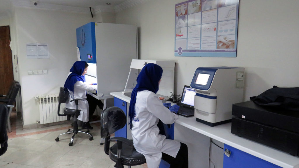 استخراج cDNA RNA DNA پرایمر PCR آزمایشگاه مولکولی Real time PCR