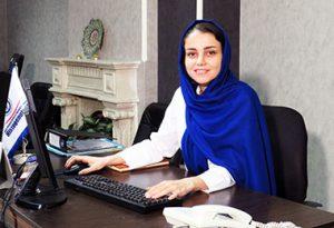 خانم زینلی - مدیر داخلی